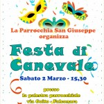 FESTA DI CARNEVALE IN MASCHERA