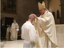 Ordinazione diaconale di Giuseppe Luigi Rella