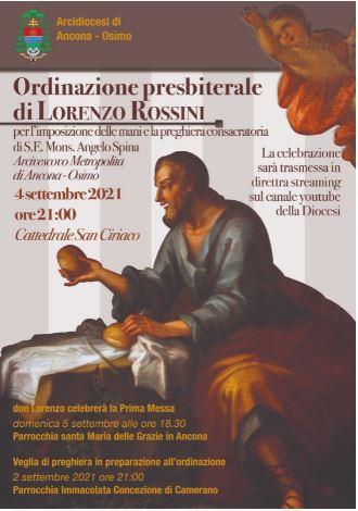 Ordinazione presbiteriale di Lorenzo Rossini